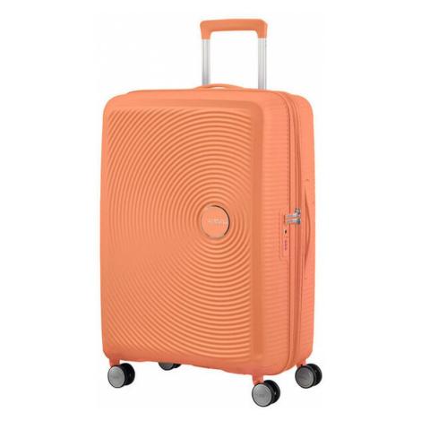American Tourister Cestovný kufor Soundbox Spinner 32G 97/110 l - světle oranžová