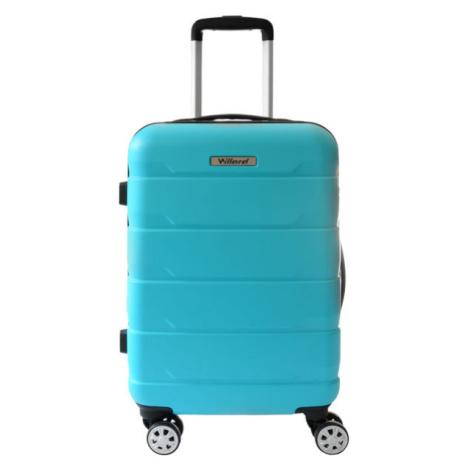 Willard RAIL-II-35 modrá - Plastový kufor s kolieskami