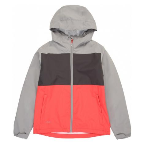 ICEPEAK Prechodná bunda 'KELLER'  ružová / sivá / tmavosivá