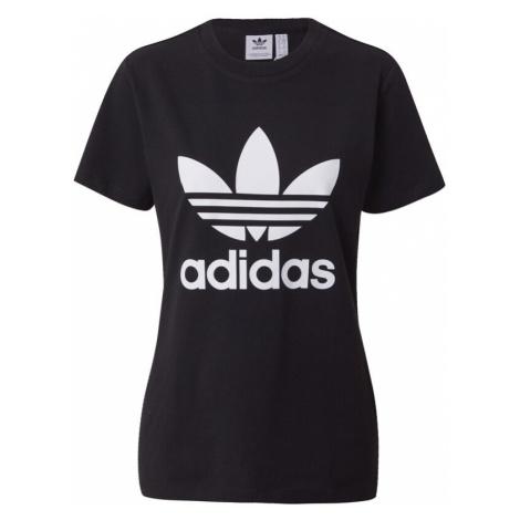 ADIDAS ORIGINALS Tričko  čierna / biela