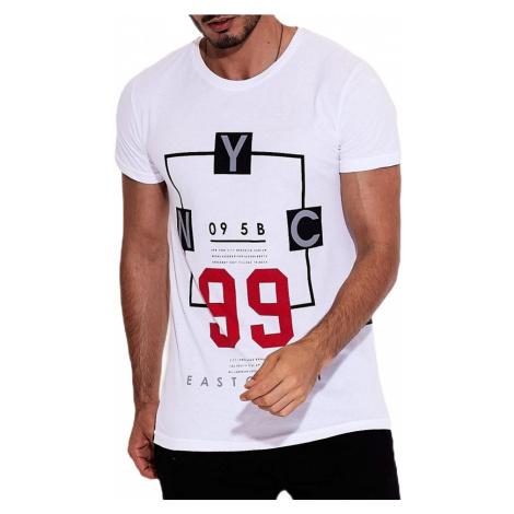 Biele tričko nyc MECHANICH