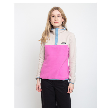 Patagonia W's Micro D Snap-T P/O Marble Pink