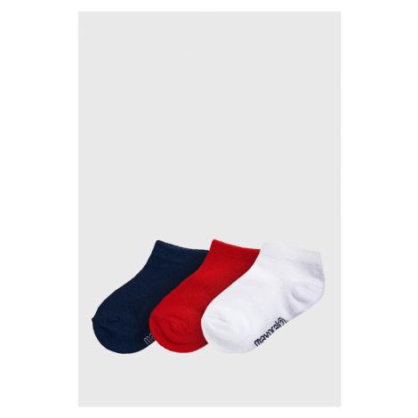 3 PACK detských nízkych ponožiek Jungle