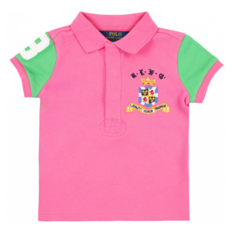 Polo Ralph Lauren Polokošeľa Pieced 311783930 Ružová Regular Fit