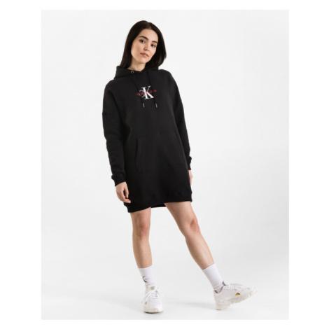 Calvin Klein Monogram Šaty Čierna