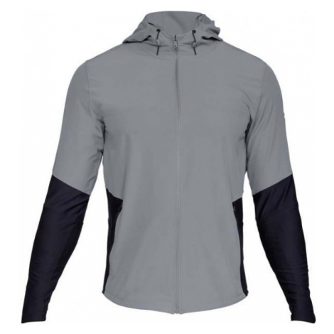 Under Armour TBORNE VANISH JACKET sivá - Pánska bunda