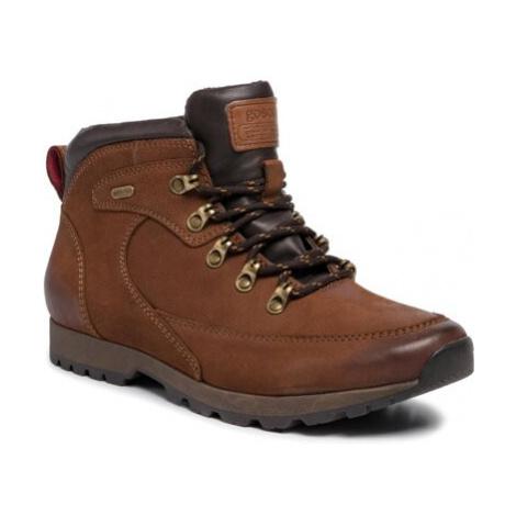 Šnurovacia obuv GO SOFT MI08-C623-614-06 Prírodná koža(useň) - Nubuk
