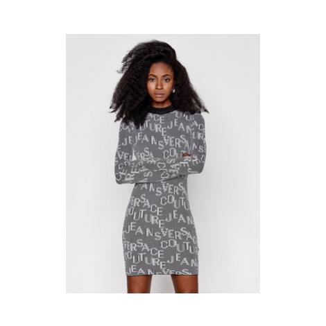Versace Jeans Couture Úpletové šaty B4HZB810 Farebná Slim Fit