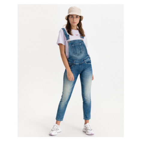 Salsa Jeans Wonder Push Up Jeans na traky Modrá