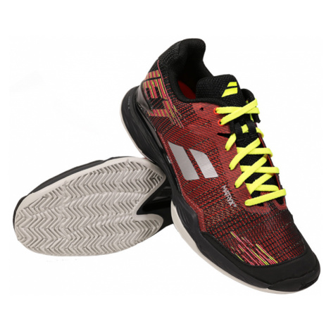 Pánska tenisová obuv Babolat Jet Mach II Clay Red/Black