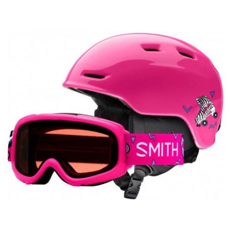 Smith ZOOM JR ružová - Detská lyžiarska prilba
