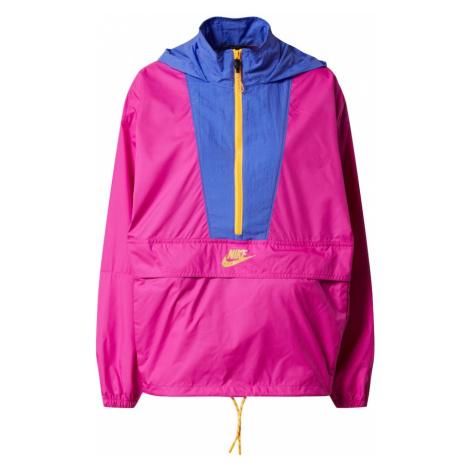 Nike Sportswear Prechodná bunda  fuksia / svetlofialová