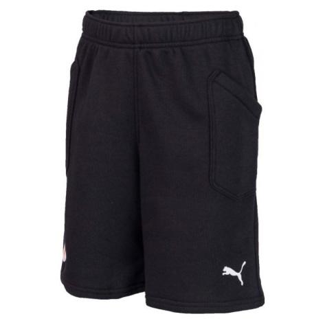 Puma LIGA CASUAL SH JR SLAVA čierna - Detské športové šortky