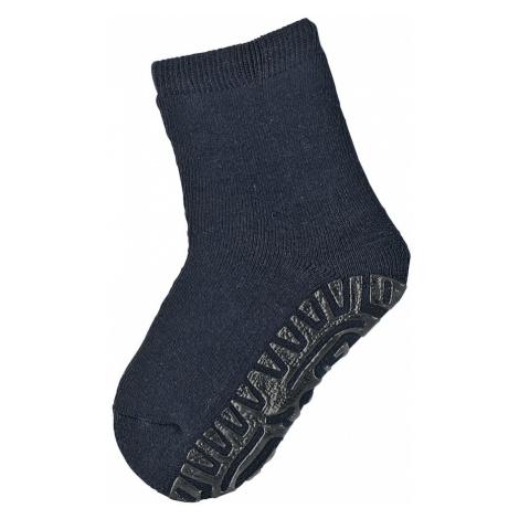 STERNTALER Ponožky 'Fli Fli'  námornícka modrá