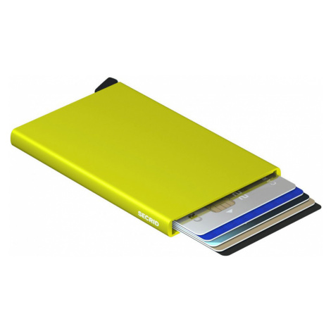 Secrid Cardprotector Lime-One size žlté C-Lime-One size