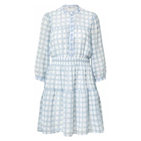 ONLY Košeľové šaty  svetlomodrá / biela