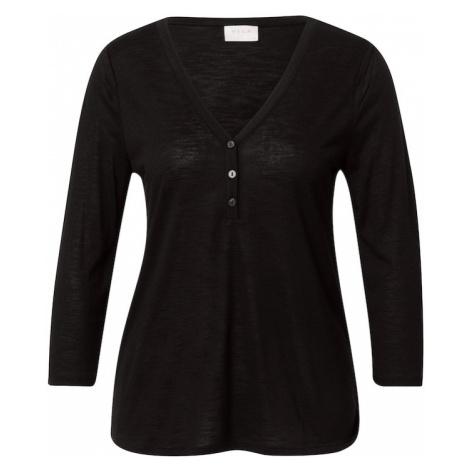 VILA Tričko 'NOEL'  čierna