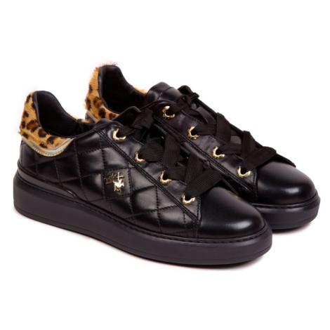 Tenisky La Martina Woman Shoes Nappa Leather