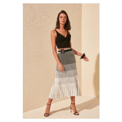Women's skirt Trendyol Striped