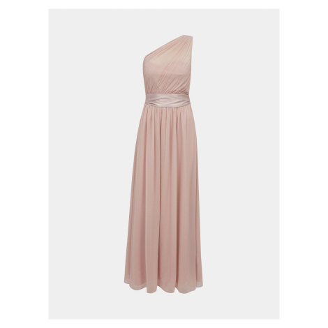Dorothy Perkins svetlo ružové maxi šaty