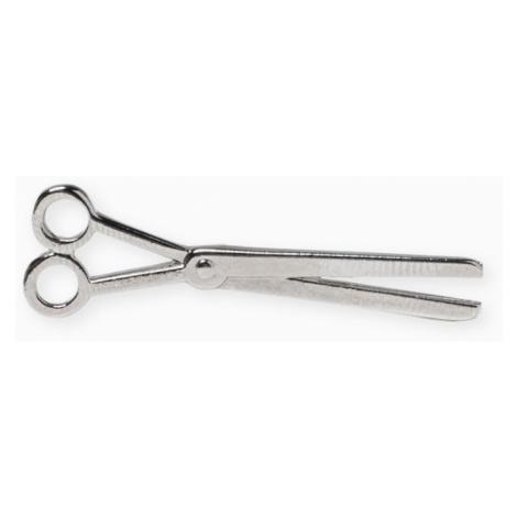 Ombre Clothing Men's lapel pin scissors A216