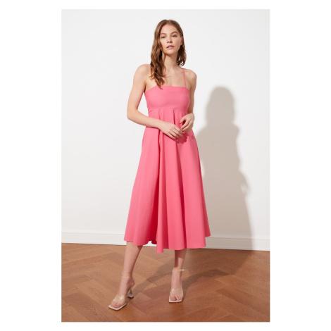 Trendyol Pink Strap Dress