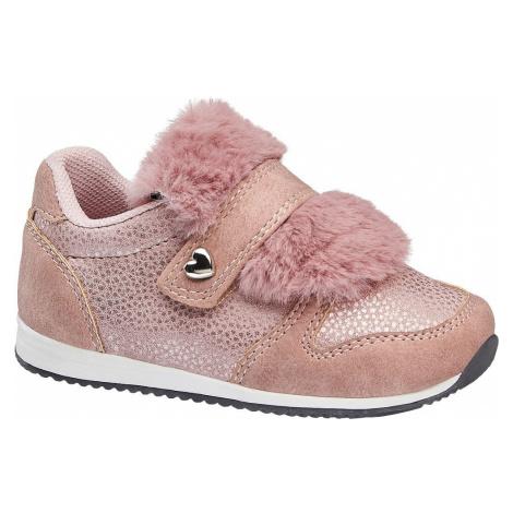 Cupcake Couture - Ružové detské tenisky na suchý zips Cupcake Couture