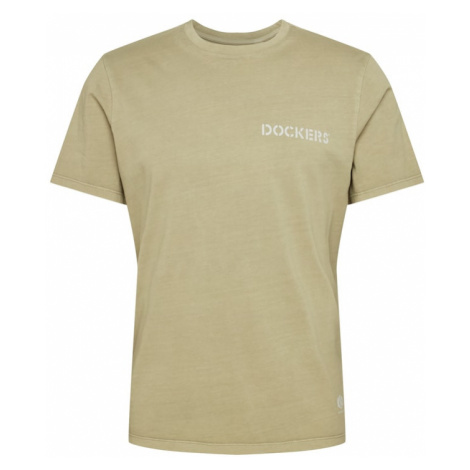 Dockers Tričko 'SUSTAINABLE TEE'  kaki