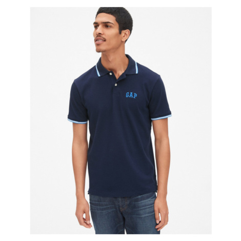 GAP Polo tričko Modrá