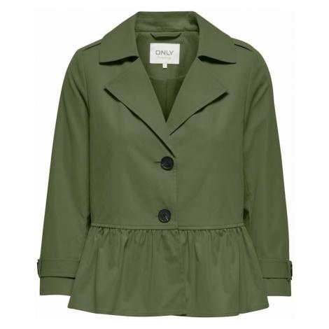 ONLY Prechodná bunda 'Isabelle'  olivová