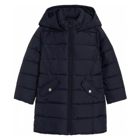 MANGO KIDS Prechodná bunda  námornícka modrá