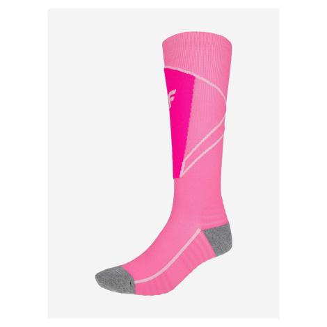 Ponožky 4F Sodn200 Ski Socks Růžová