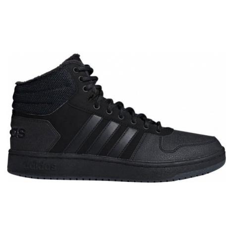 adidas HOOPS 2.0 MID čierna - Pánska obuv na voľný čas