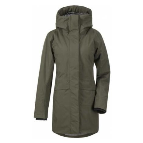 Kabát D1913 CAJSA 503504-447 - tmavo zelená