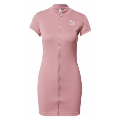 PUMA Šaty  rosé / biela