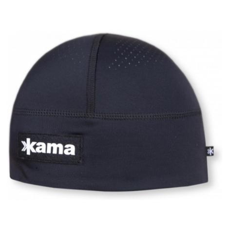 Kama LYCRA čierna - Zimná čiapka