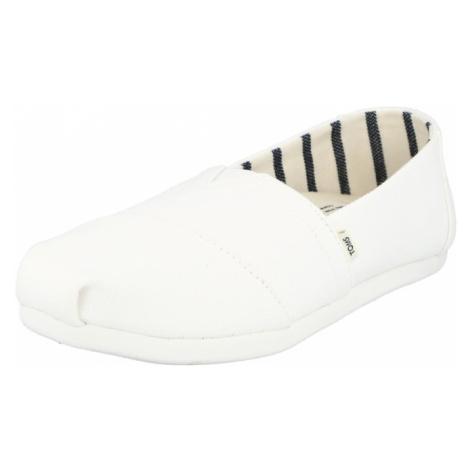 TOMS Papuče  biela