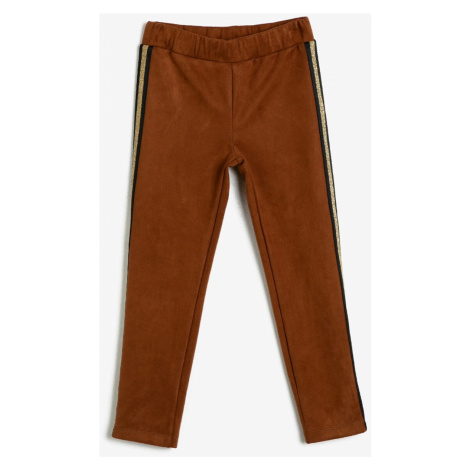 Koton Brown Boy Tights