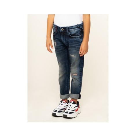 Pepe Jeans Džínsy Djo PB201470 Tmavomodrá Skinny Fit