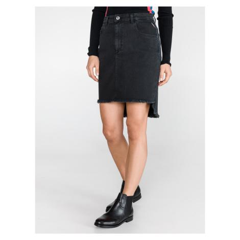 Sukně Replay Čierna