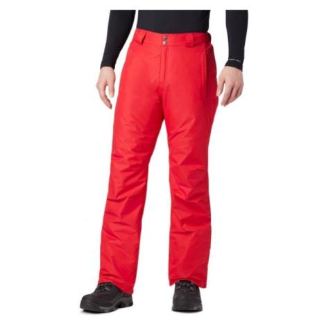 Columbia BUGABOO OMNI-HEAT PANT červená - Pánske lyžiarske nohavice