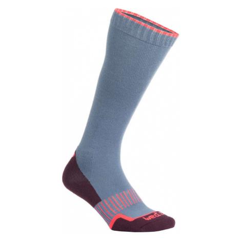 WEDZE Ponožky 100 Modro-ružové