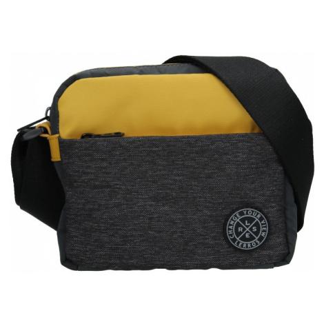 Pánska taška cez rameno Lerros Zarro - šedo-žltá