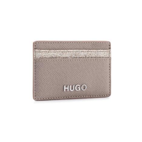 Hugo Puzdro na kreditné karty Victoria Cardh-Gl 50424208 Béžová Hugo Boss