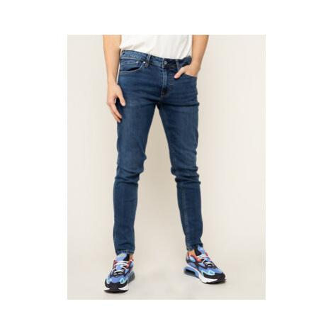 Pepe Jeans Skinny Fit džínsy Finsbury PM200338 Tmavomodrá Skinny Fit