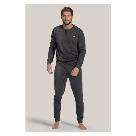 Sivé pyžamo FILA Reese