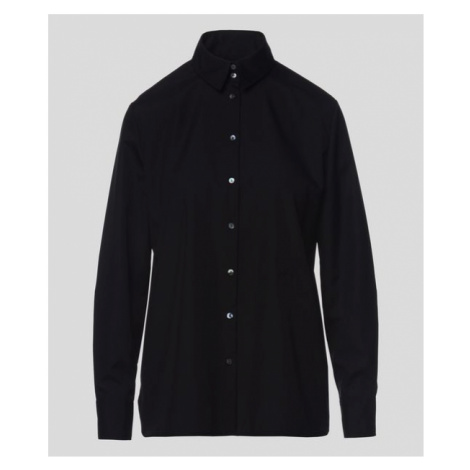 Košeľa Karl Lagerfeld Embellished Poplin Shirt