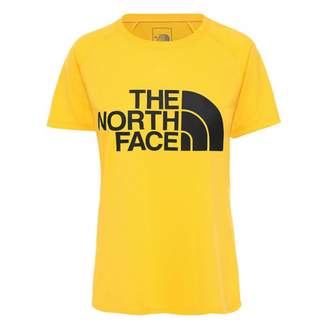 The North Face W Graphic Play Hard T-Shirt-S žlté NF0A3YHK-S