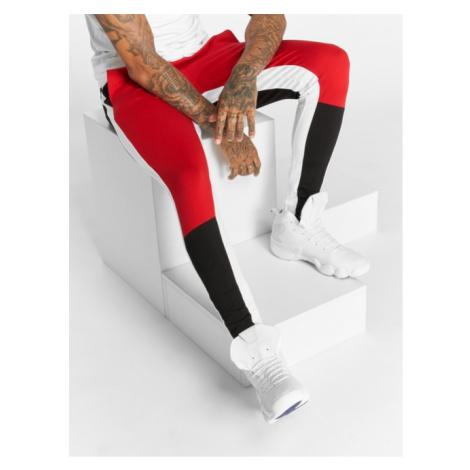 Bangastic / Sweat Pant Stripes in red - Veľkosť:3XL