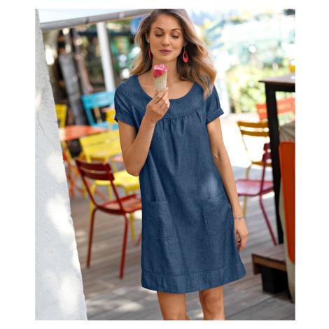 Blancheporte Džínsové šaty denim